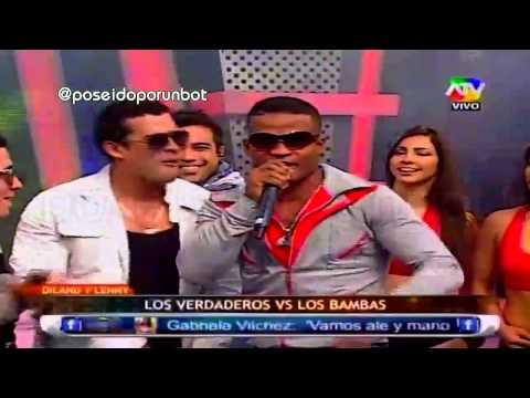 COMBATE: Pantera Zegarra y Christian Dominguez Cantan como Dylan y Lenny 03/07/13