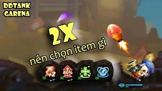 [Garena DDTank] Level 2x nên chọn ITEM và VŨ KHÍ như thế nào