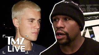 Justin Bieber and Mayweather: Friendship Over? | TMZ Live