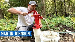 DIY Water Well Drilling RESULTS | Off Grid Cabin Build #28