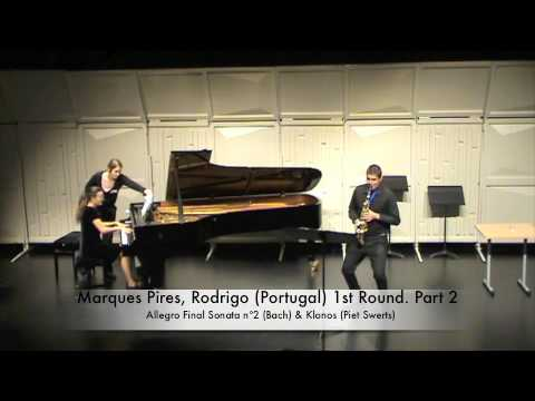 Marques Pires, Rodrigo Portugal 1st Round Part 2