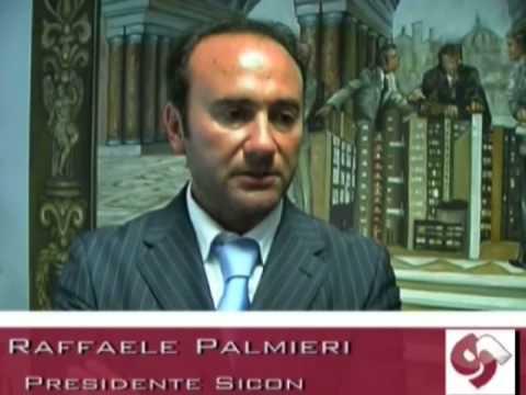 Raffaele Palmieri, Presidente Sicon