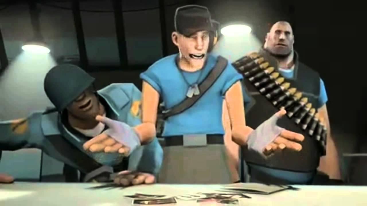 tf2 meet the spy cartoon comedy