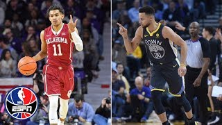 Can Trae Young follow in Steph Curry's footsteps? | NBA Countdown | ESPN