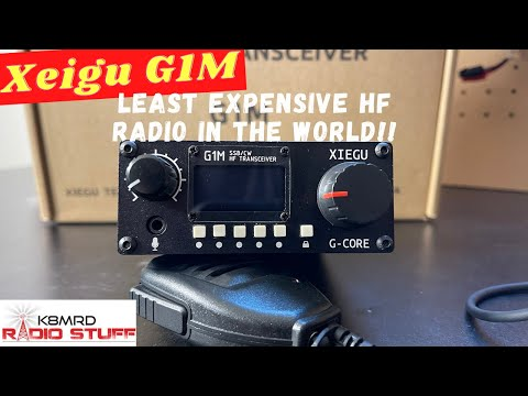 Xiegu G1M | Is this the least expensive HF Ham Radio in the world?