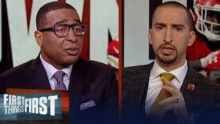 Cris and Nick react to the Browns signing Kareem Hunt to 1-year deal | NFL | FIRST THINGS FIRST