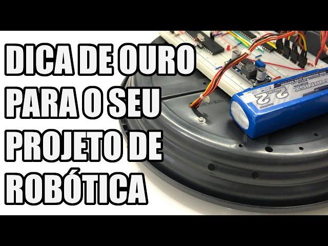A DICA DE OURO PARA PROJETAR O SEU ROBÔ | Usina Robots US-3 #031