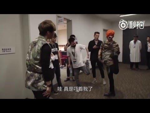 [160112]  BIGBANG--MADE in CHINA 2015: backstage