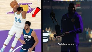 MVP Award Speech! Dunked on KAT in the Playoffs! NBA 2k19 MyCAREER Ep. 51