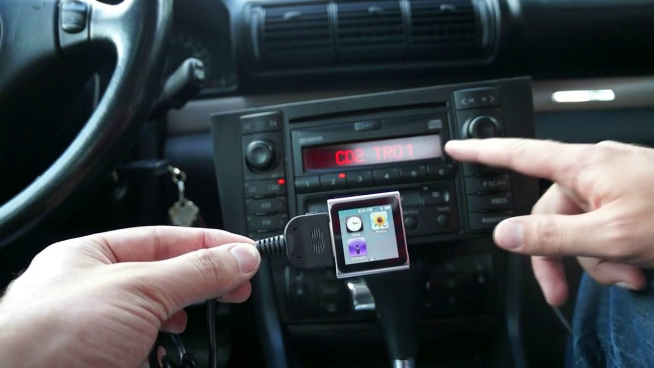 2001 Audi A4 Ipod Aux Adapter Installation Youtube