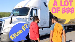 Story of an Indian Truck Driver in Canada!