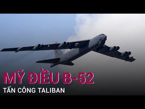 Mỹ điều B-52 tấn công, Taliban chịu