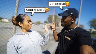 """Calling My GIRLFRIEND The """"B"""" WORD To See Her Reaction...*BIGGEST MISTAKE EVER*"""