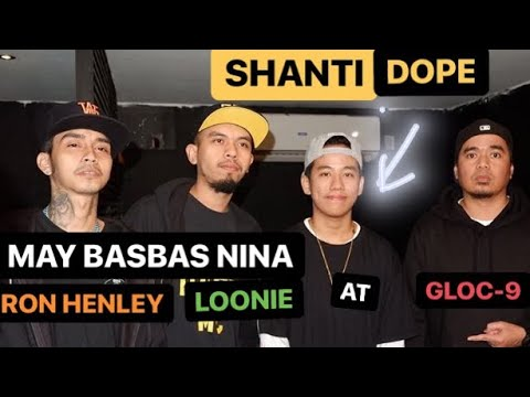 SHANTI Dope, binasbasan nina Loonie, Ron Henley, at Gloc-9 | Suportado sya sa #NadarangMVLaunch