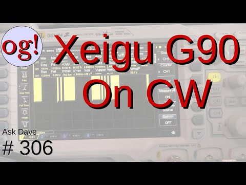 The Xeigu G90 QRP Transceiver on CW (#306)