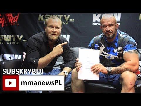 """Tomasz Oświeciński o debiucie KSW: """"Jestem przede wszystkim sportowcem, nie aktorem."""""""