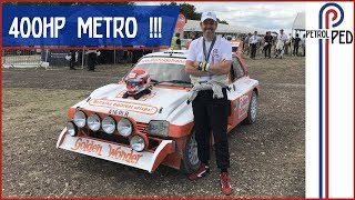 MG Metro 6R4 on the Goodwood Rally Stage made me SCREAM !