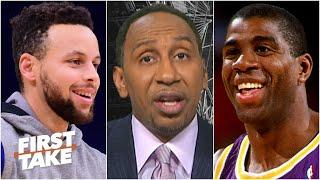 Stephen A. and Max debate Steph Curry vs. Magic Johnson | First Take