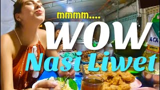 Foreigner trying nasi liwet solo | MOUTHWATERING DISH in Solo, Indonesia