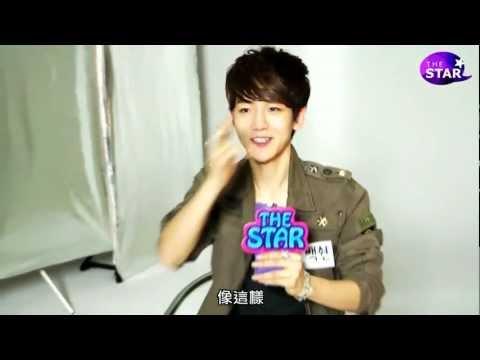 [GOBAEK中字] 120511 EXO-K - THE STAR interview (BaekHyun Part) 伯賢部分