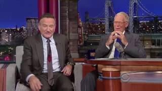 Robin Williams Letterman 2013