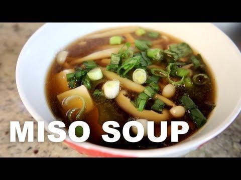 Healing miso soup | Easy vegan cooking