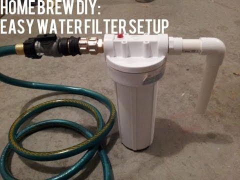 Homebrew Diy Easy Water Filter Setup Beer Geek Nation