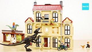 レゴ ジュラシックワールド  インドラプトル ロックウッド邸で大暴れ 75930 セット説明 9:19~ / LEGO Jurassic World Indoraptor Rampage