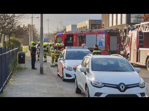 Bombrieven ontploft in Kerkrade en Amsterdam
