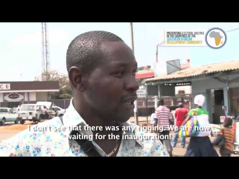 PEV-SADC project: Voices of the Zimbabwean people after the elections