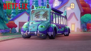 Bus Needs A Bath | Super Monsters | Netflix