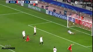 هدف سبارتاك موسكو الثالث في اشبيلية | Spartak Moscow - Sevilla 3-1 ...
