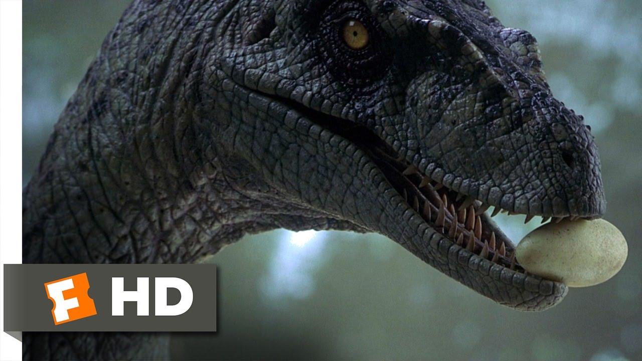 Jurassic Park 3 10 10 Movie Clip Returning The Raptor