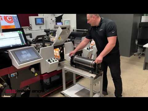 Mark Andy Digital Series HD Quick Change Die Cut Semi Rotary