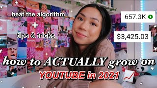 how to ACTUALLY grow on Youtube in 2021 *from 0 to 50,000 subscribers*