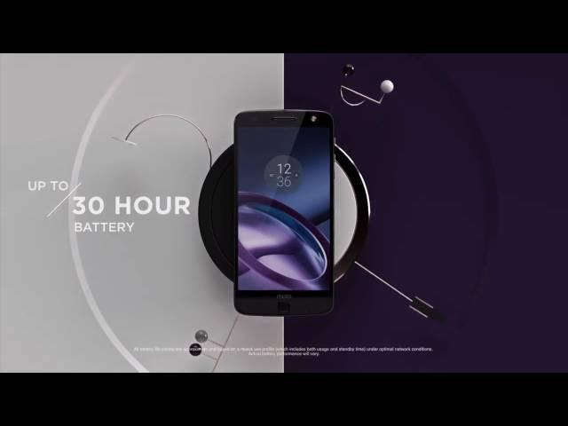 Belsimpel-productvideo voor de Motorola Moto Z Black
