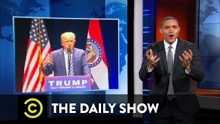 Donald Trump's Political Fight Club: The Daily Show