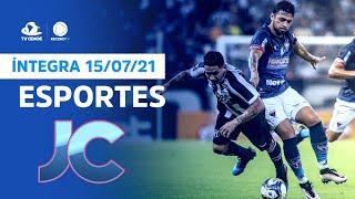 Esportes no Jornal da Cidade   Quinta, 15/07/2021