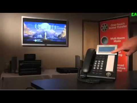 Control4 with  Panasonic IP PBX Integration
