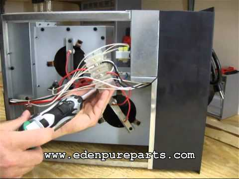 edenpure 1000xl wiring diagram terminal blocks - youtube edenpure 1000 wiring diagram