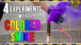 4 Tricks with Colored Smoke
