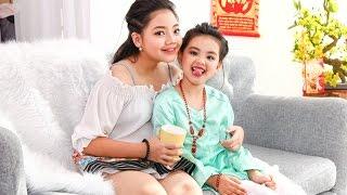 Phát sốt với MV Ăn Tết siêu dễ thương của Thanh Hà, Mẫn Nhi, Thiên Khôi, Duy Huy, Minh Quân