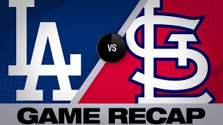 Martinez's 4 hits help Cards top Dodgers - 4/11/19