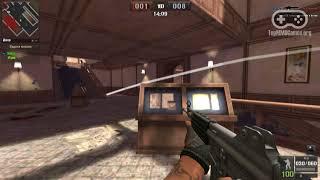 Геймплей онлайн шутера Point Blank / Поинт Бланк