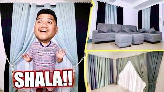 MAY KURTINA NA ANG BINTANA SA BAGONG BAHAY (LAKAS MAKA-MAYAMAN!!)| LC VLOGS #363