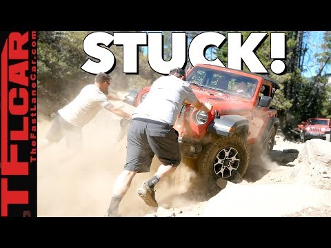 No Winch Needed! New 2.0L Jeep Wrangler Turbo vs Metal Crushing Rubicon Trail