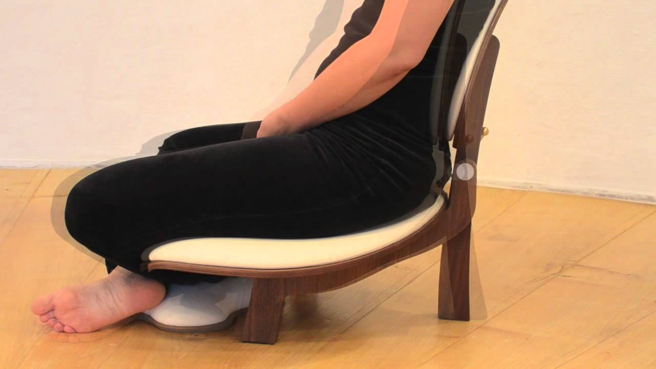 Basho Meditation Chair How to use chair and backrest