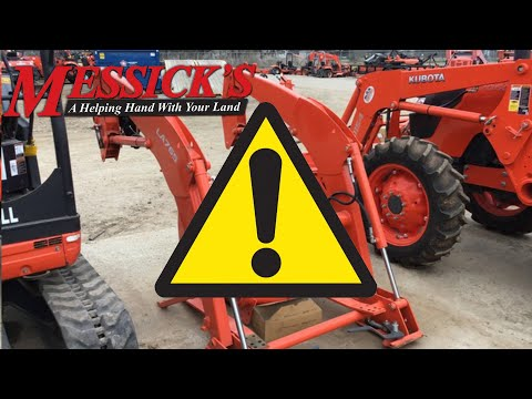 Caution! Buying used loaders, backhoes, mowers and more. Picture