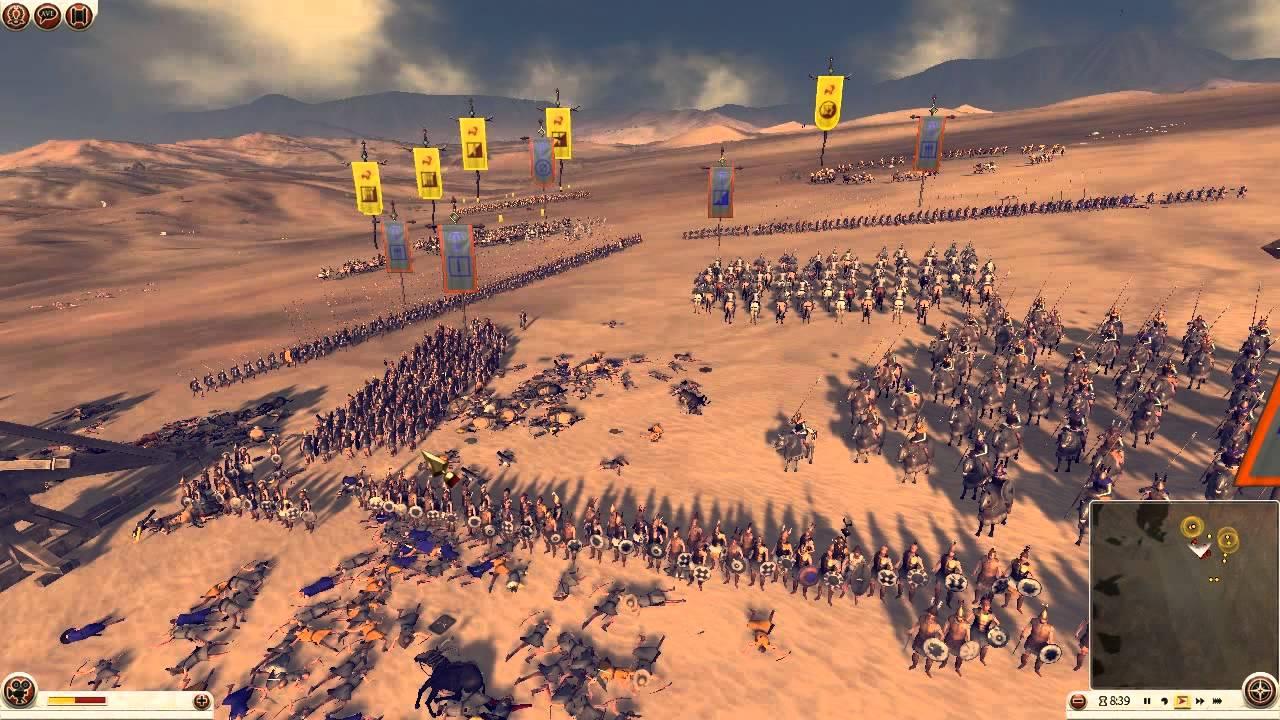Total War Rome 2 #10 Royal Scythia vs Seleucid Empire ...