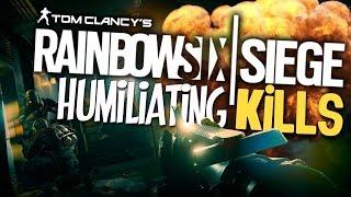 Rainbow Six Siege - Humiliating Kills! (Trolling Noobs)